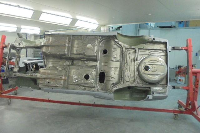 Race Car Restoration and preparation 11