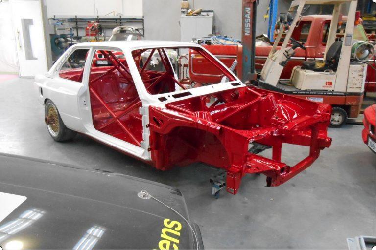 Race Car Restoration and preparation 12