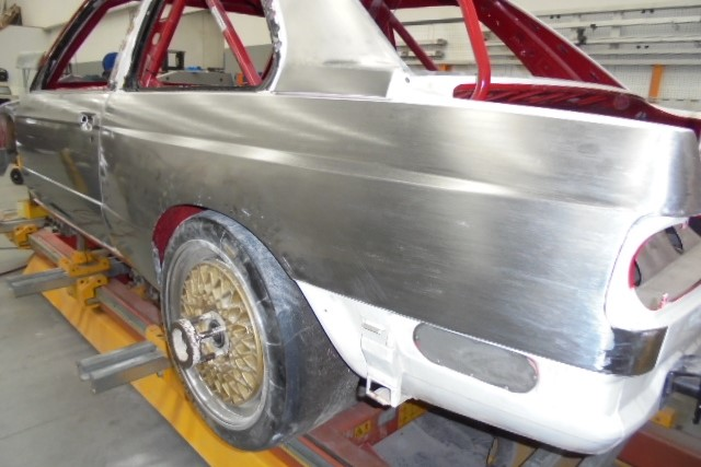 Race Car Restoration and preparation 8