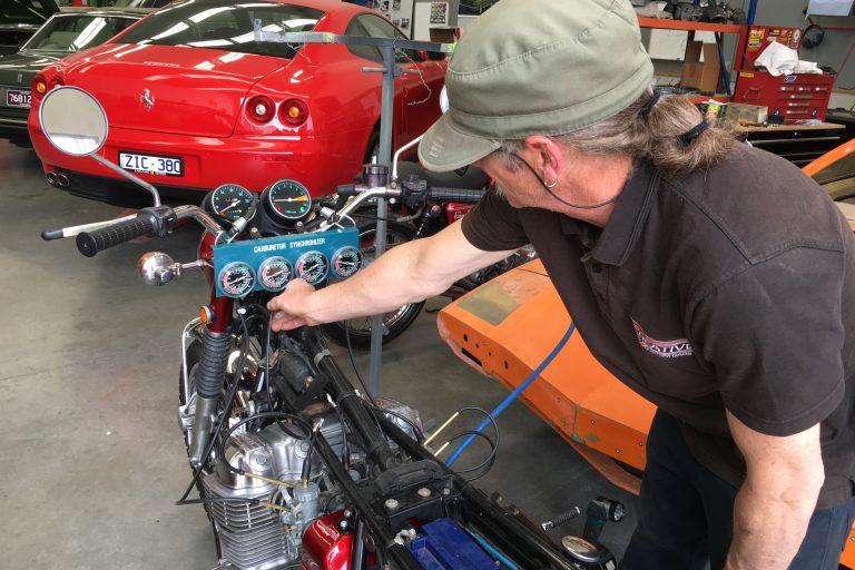classic motorcycle restoration 8